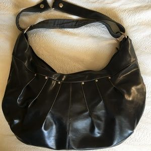 Crystalyn Kae Large Hobo Studded Vegan Purse